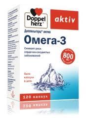 <b>Доппельгерц актив Омега</b>-<b>3</b> капсулы №120 купить в Москве по ...