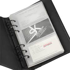 Regal Leather Business Card Binder Samsill World Leaders In