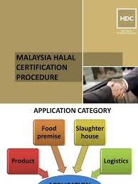 Process Flow For Malaysia Halal Certification