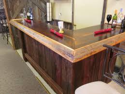 barn wood bar designs
