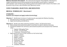 cover letter resume samples of resumes for medical assistant sample resume objectives for medical assistant