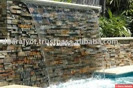 outdoor slate stone wall fountain ft5 india stone garden s for