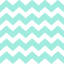Sea Green Mixed Media - Sea Green Chevron Pattern by Christina Rollo