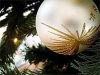 Ran An Die Tanne Möglichkeiten Des Christbaumschmucks