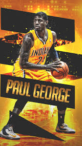 Download Wallpaper 800x1420 Paul George Indiana Pacers