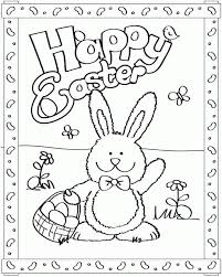 30 easter pictures to color. Free Printable Easter Coloring Pages Coloring Home