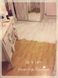 painting laminate flooring so quick easy to do with chalk paint pinteres