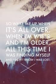 Wake Me Up Avicii Song Lyrics We Love Pinterest Lyrics New Inspiring Song Lyrics
