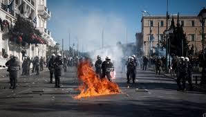 Image result for εικόνες διαδηλώσεις κουκουλοφοροι