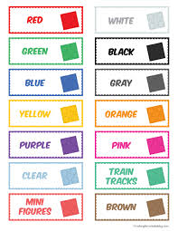 Legos For Free The Magical Lego Organizing Solution Free Printable Labels