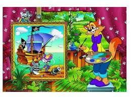 Купить <b>пазл Step puzzle</b> Экран Кот Леопольд (73020), элементов ...