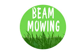 lawn mower logo png. beam mowing - logo lawn mower png