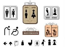 mens bathroom sign vector. Modren Vector Toilet Sign Vector Set Illustration With Mens Bathroom Sign Vector W