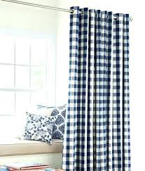 blue check curtains buffalo blackout curtain the land of nod kitchen buffalo check shower curtain scroll to previous item navy red and white