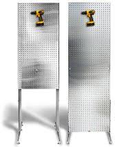 Pegboard Display Stands Uk Wood Framed 100 Panel Pegboard DisplayI Could Make This 100100 47