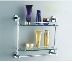 brushed nickel bathroom shelf glass bathroom shelves with towel bar glass brushed nickel bathroom shelves brushed nickel bathroom towel shelves
