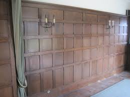 antique wall panelling and wall