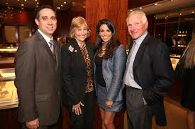 haute event exclusive preview of the tiffany co leather group director henry gonzalez suzie sayfie stephanie sayfie aagaard
