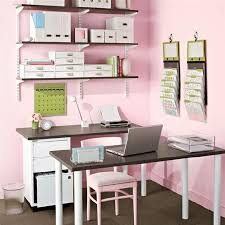 simple teen home office space ideas