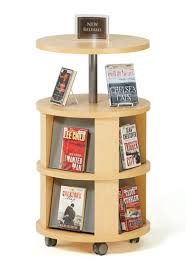 Library Book Display Stands Excellent Mobile Merchandising Pieces Casters Make It Easy To 3