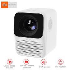 <b>Xiaomi Wanbo LCD</b> Projector T2 Free Vertical Keystone Correction ...