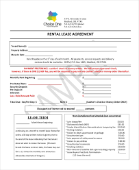 Simple Rental Lease Agreement Free 12 Simple Rental Agreement Forms In Pdf
