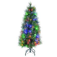 Decorations Christmas Trees Artificial   Walmart Artificial Small Fiber Optic Christmas Tree Target
