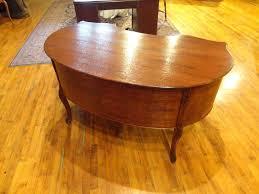custom standing desk kidney shaped mid. Image Of: Kidney Shaped Desk Antique Custom Standing Mid