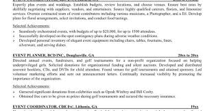 Manager Resume Event Management Image Examples Resume Sample And