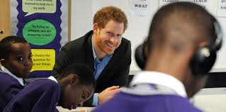prince harry s nottingham to see the work of full effect and the prince ed both programmes during a to the city in 2016 and returned to see a new strand of full effect s work which provides