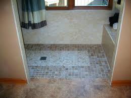 zero entry shower interior revisited zero entry shower pan level kit for tile showers x all