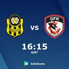 Yeni Malatyaspor vs Gaziantep FK live score, H2H and lineups