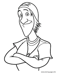 Big Hero 6 Coloring Pages Movie Fred Printable