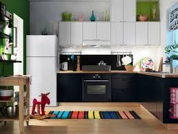 Living Room And Kitchen With Green Walls Design Ideas Apartment Interior Design Ideas For Kitchen Color Schemes