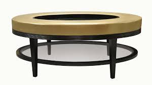 Carlisle Oval Coffee Table Ottoman