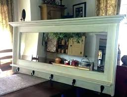 wall mirrors for living room. Fine Wall Wall Mirror With Hooks Entryway Mirrors Best Inside Plan 19 Intended For Living Room