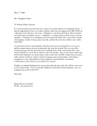 Recommendation Letter Coworker Resume Cover Letter Template