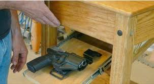Gun owners want special cabinets in furniture to conceal guns