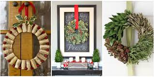 20 DIY Thanksgiving U0026 Christmas Wreath Ideas  ThegoodstuffHoliday Wreaths Ideas
