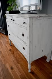 shabby chic distressed furniture. Commode Shabby Chic Blanche / Beige Et Bois Foncé Distressed Furniture S