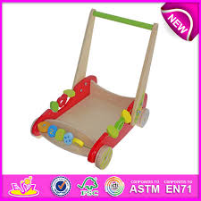 china newest style wooden trailer toys for kids wooden toy trailer toys for children wooden trailer toys baby walker push cart w16e013 china trailer