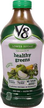 v8 juice blend lower sugar healthy greens 46 fl oz