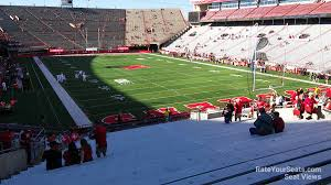 Nebraska Cornhuskers Stadium Seating Chart Memorial Stadium Nebraska Section 38 Rateyourseats Com