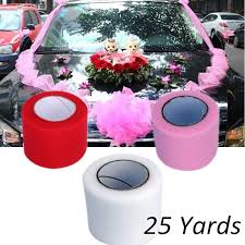dels about 15cm 25yards tulle roll fabric spool tutu soft birthday party gift wrap wedding