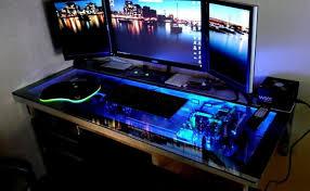desk computer built into desk plans amazing computer built into desk affordable the deskud a