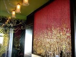 Designer Curtains In Bangalore Pomegranate Gold1 Restaurant Oye Shaava Rajesh Pai