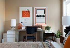 home office living room. Home Office Living Room Combination Grey Soft Carpet Wooden Varnish Table Modern Curtain Design Black Floor