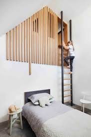modern kids bedrooms. Contemporary Kids This Modern Kids Bedroom Has A Loft Area Is Reached Via Ladder With The  Partially Hidden By Wood Slats In Modern Kids Bedrooms O