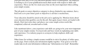 College Student Objective For Resume Generic Invoice Template