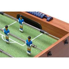 table football. garlando f-1 table football - telescopic rods view